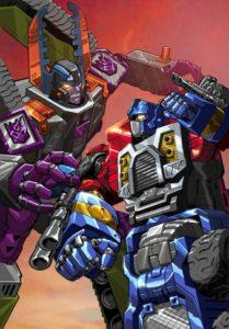 armada optimus vs megatron