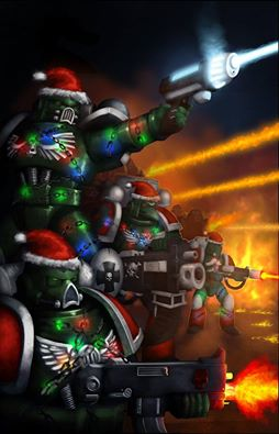 x-mas space marines