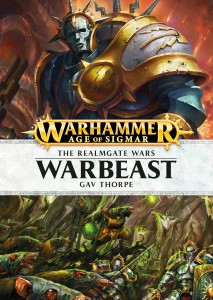 Warbeast-by-Gav-Thorpe-Black-Library-Age-of-Sigmar-HB