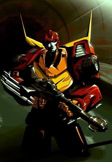 rodimus ready for action