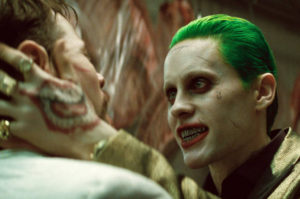 "This image released by Warner Bros. Pictures shows Jared Leto in a scene from ""Suicide Squad."" (Warner Bros. Pictures via AP)"