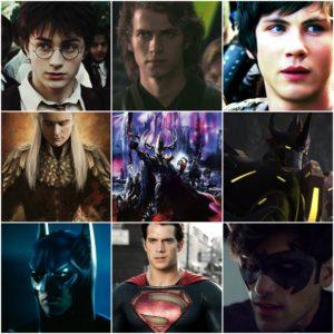 Мои любими герои!