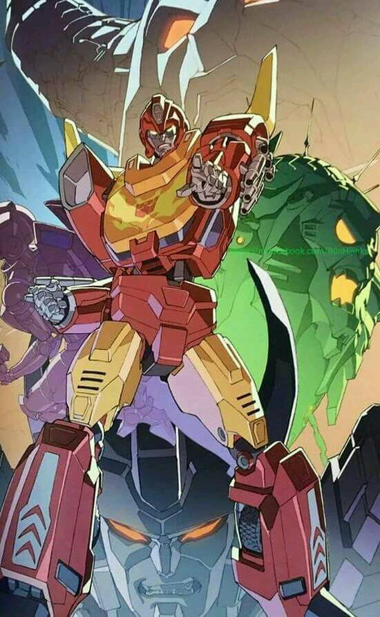 rodimus and the five faces of darkness
