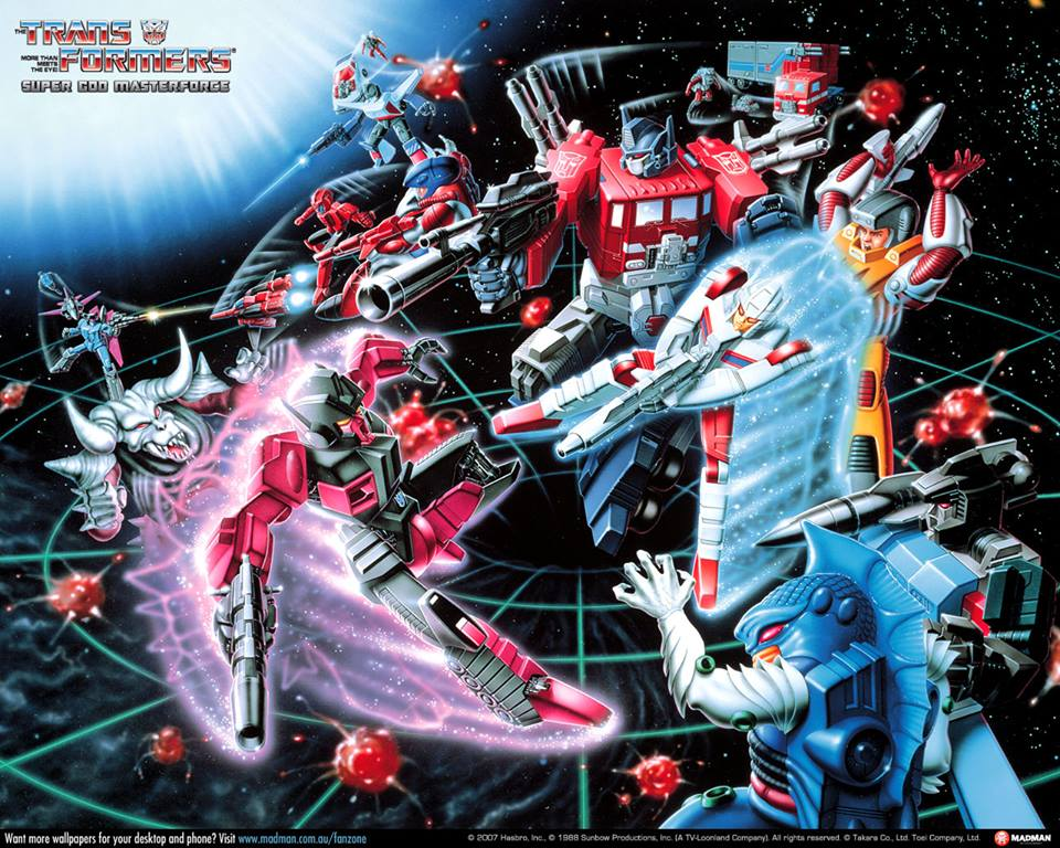 SuperGod Masterforce Art