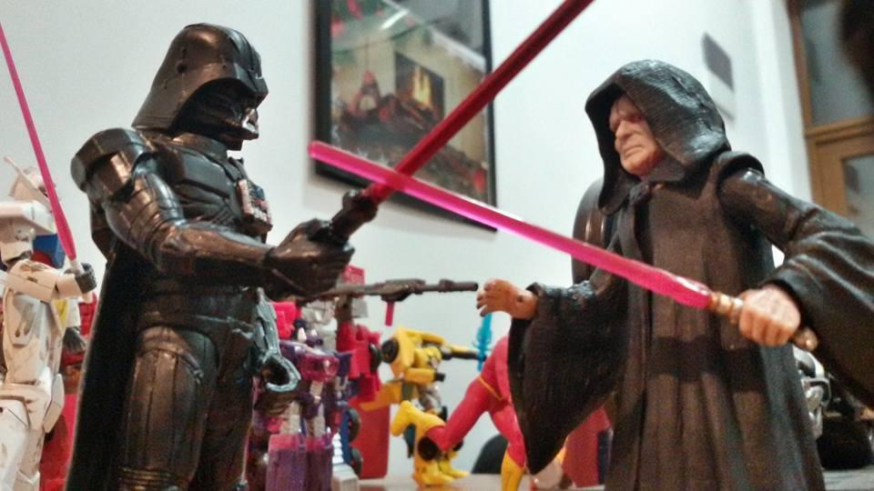 Vader vs Emperor