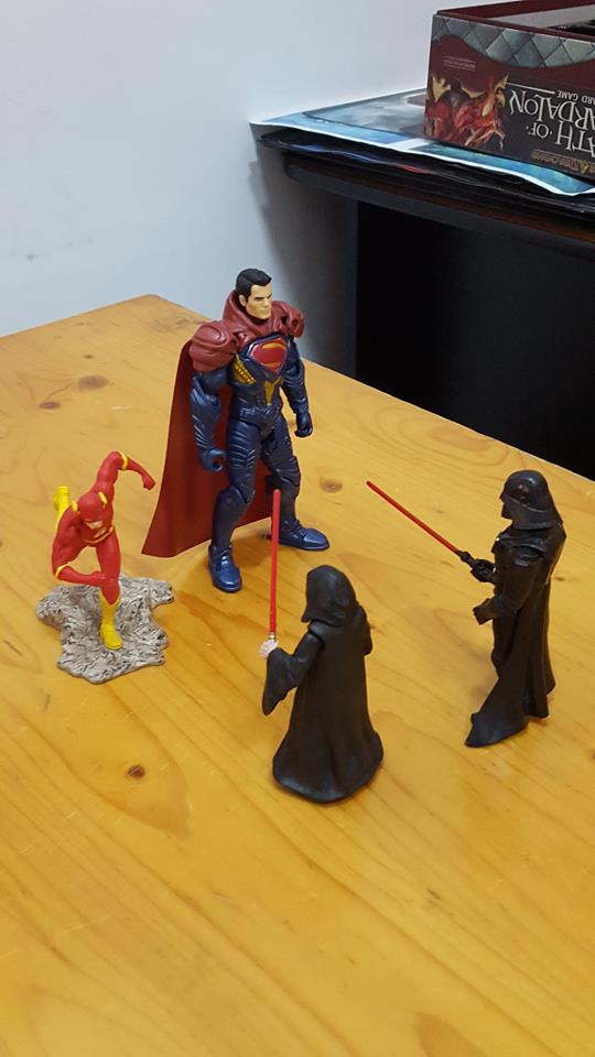 superheroes vs sith
