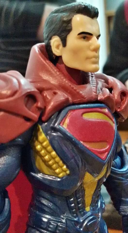 superman handsome toy