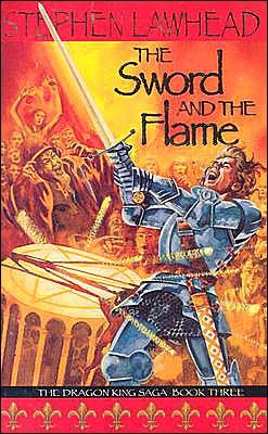 swords flame old