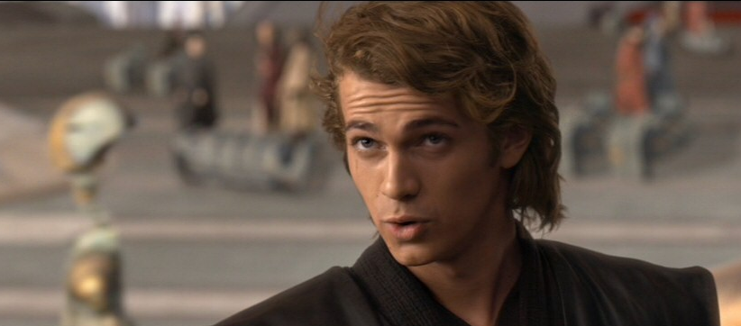 i wanna kiss anakin