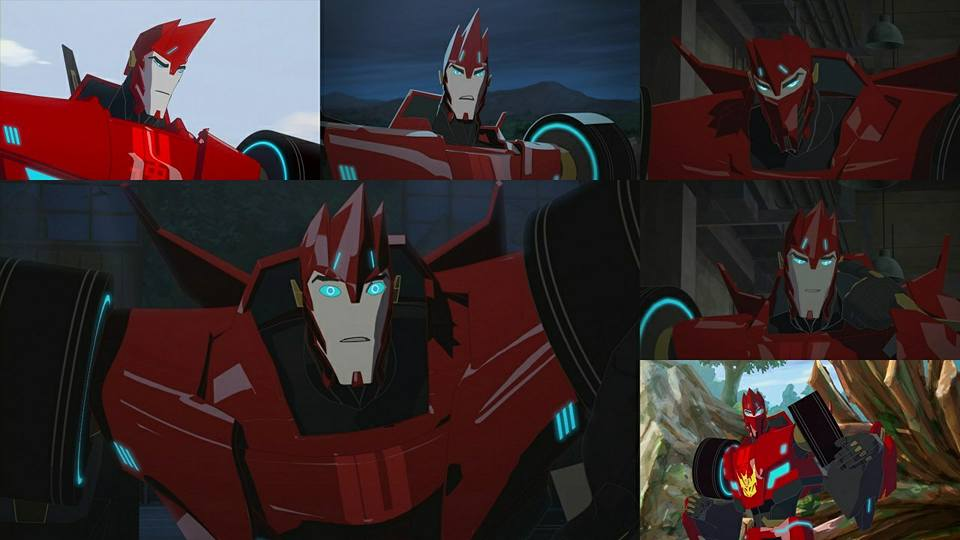 sideswipe many faces