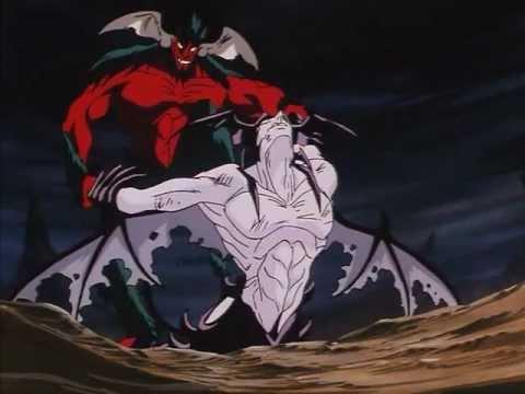 amon vs devilman