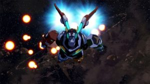 voltron flying