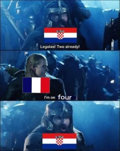 legolas gimli world cup