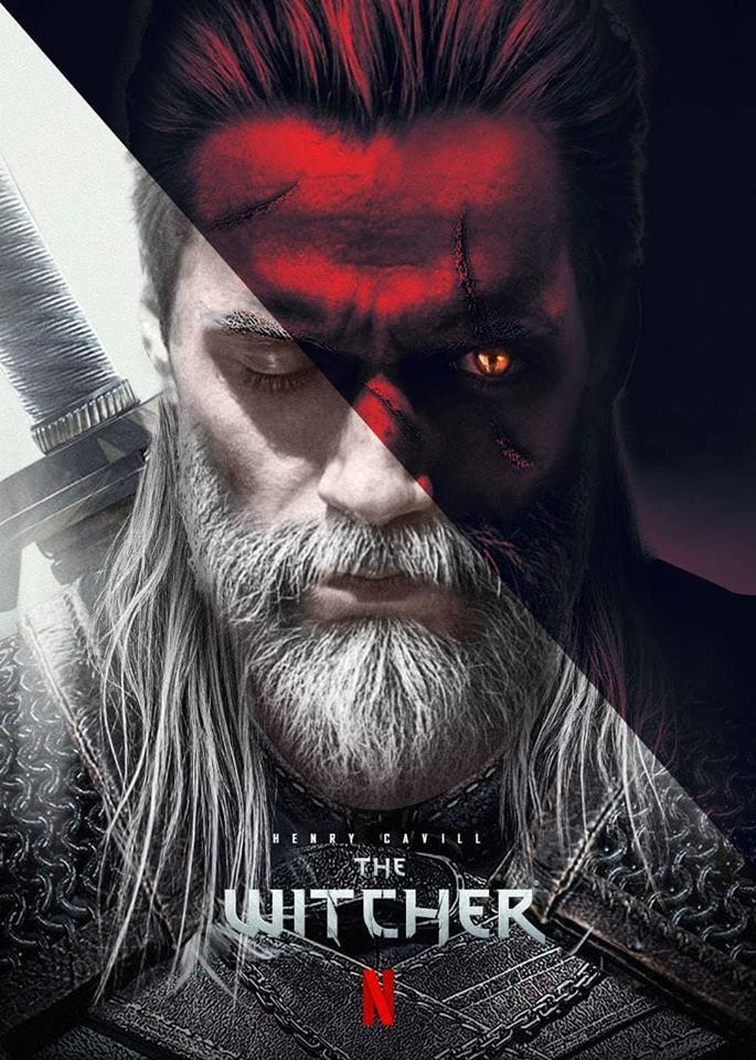 henry cavill is the witcher