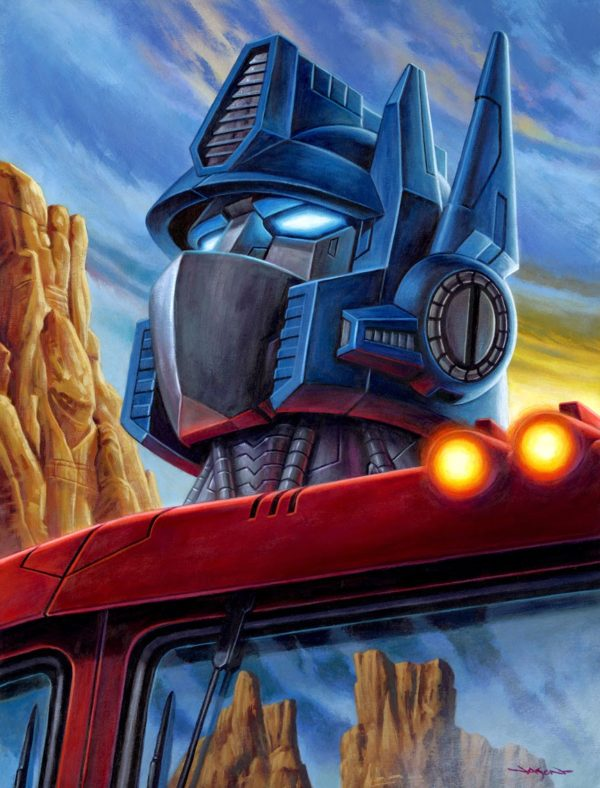 Jason-Edmiston-Transformers-Optimus-Prime-Print