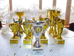 trophies triple awesome