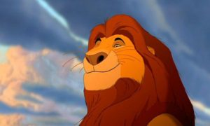 mufasa cartoon