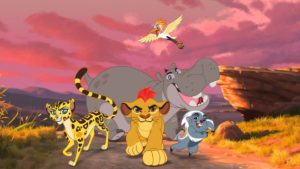 the lion guard team