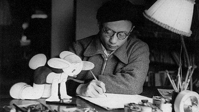 Osamu Tezuka -young