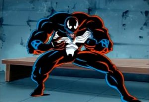 venom cartoon cool