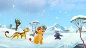 lion guard snow