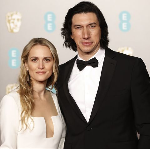 actors-joanne-tucker-and-adam-driver-pose-on-the-red-carpet-news-photo-1577725274