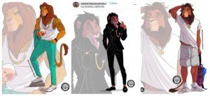 Anthro Lions
