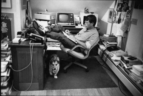 Stephen-King-working